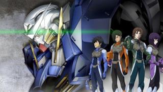 Un'immagine tratta dall'anime Mobile Suit Gundam 00