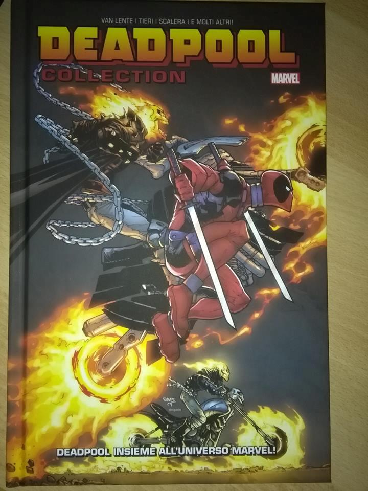 Deadpool con due Ghost Rider