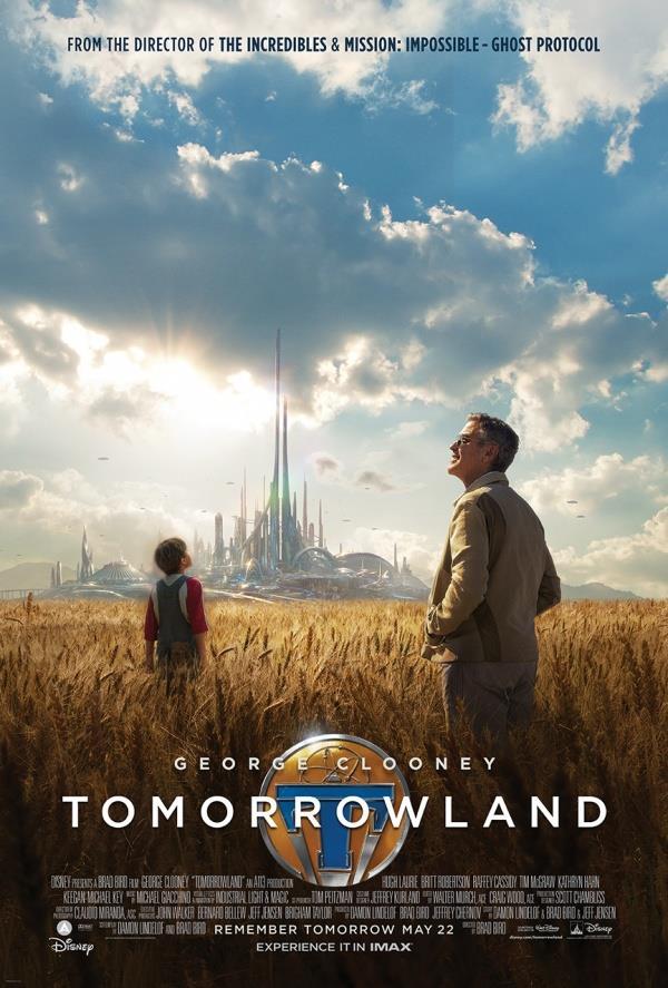 La locandina ufficiale di Tomorrowland (2015)