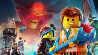 Un poster promozionale di The LEGO Movie