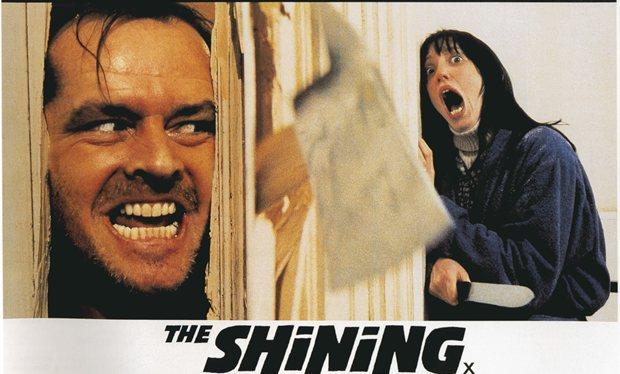 Il poster di The shining diventa una gif nel video di Pablo Fernàndez Eyre