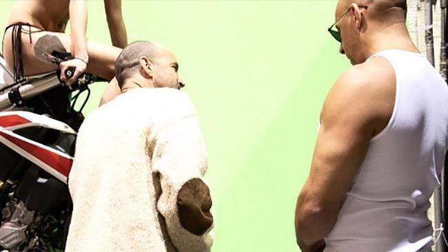 Vin Diesel in una delle prime immagini del set di xXx 3