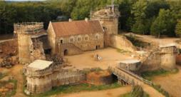 Ultime fasi di costruzioni del castello medievale