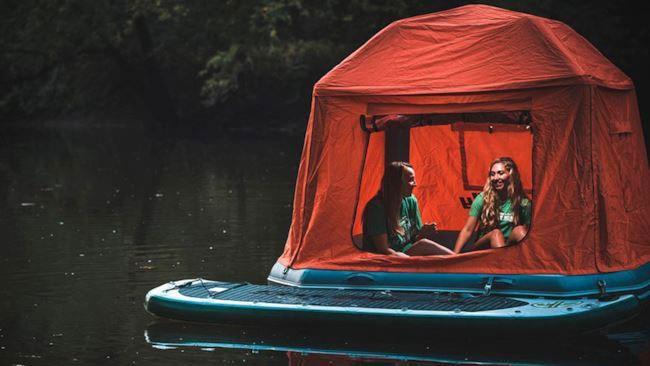 La tenda galleggiante