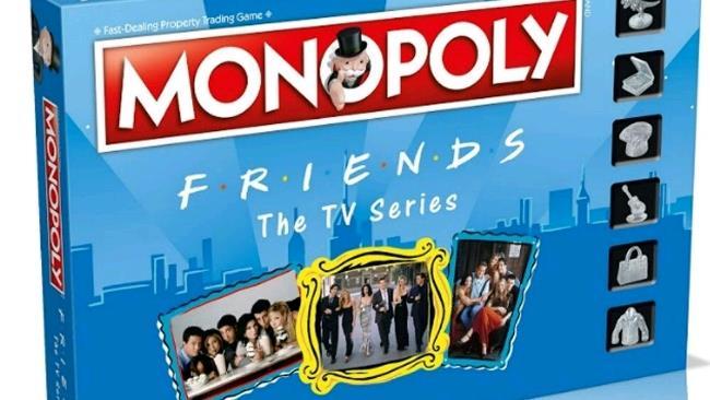 La foto della scatola di Monopoly Friends