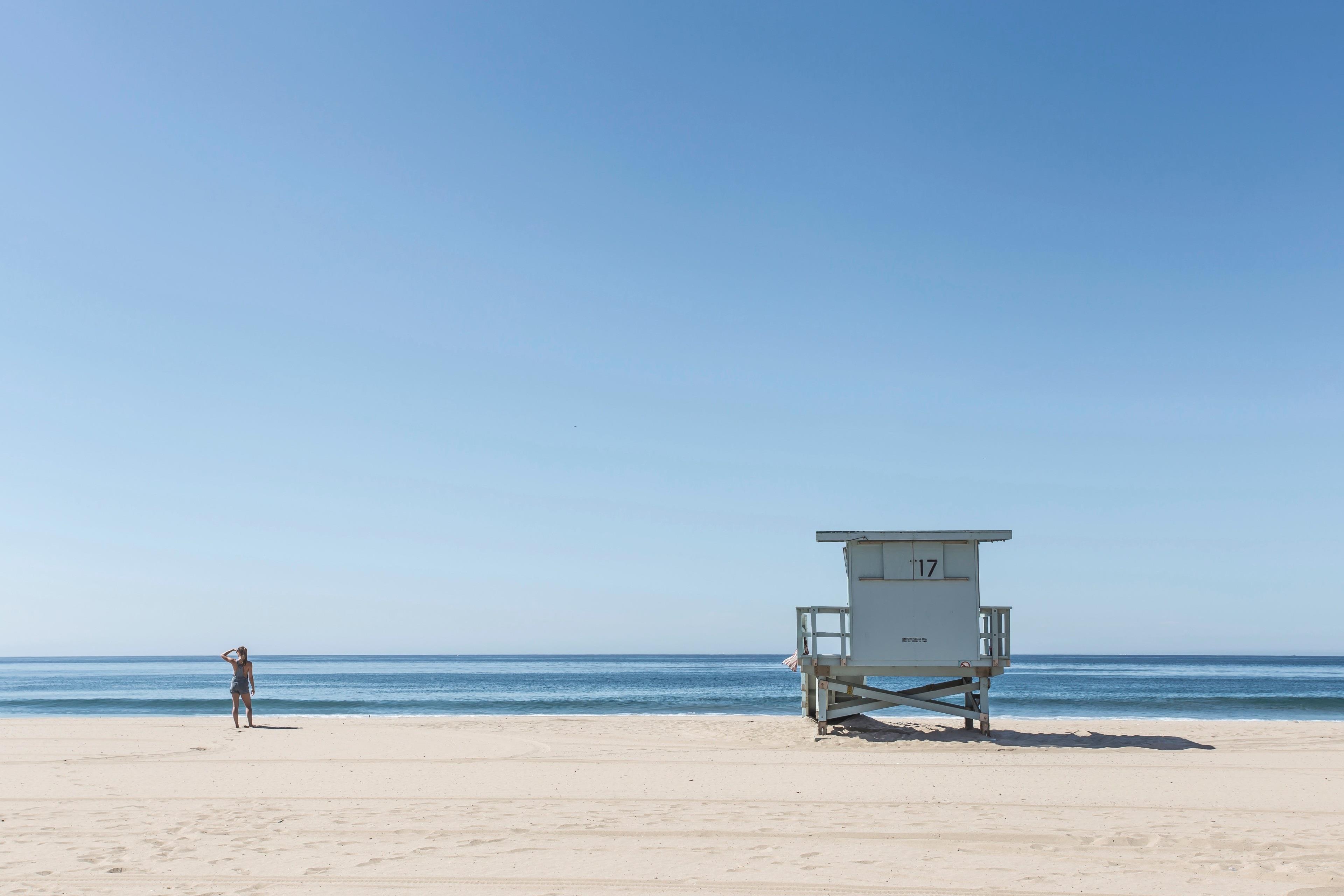 Una spiaggia - Sfondi per PC, iPhone, Android e profilo WhatsApp da scaricare