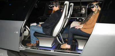 Il testing del taxi tramite la realtà aumentata