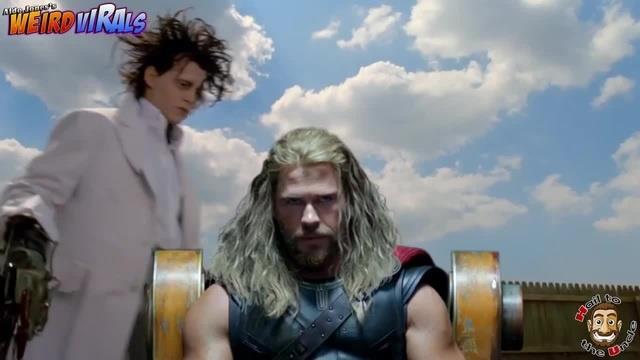 Uno dei tanti personaggi che maltratteranno Thor nel Weird Trailer