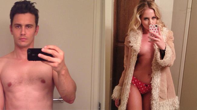 uomo e donna che si scattano un selfie