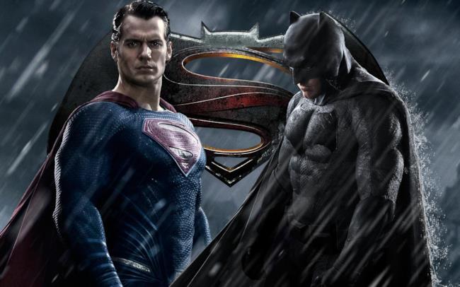 Henry Cavill e Ben Affleck sono Superman e Batman