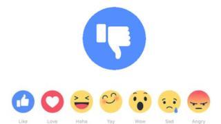 Pollice verso tra le novità di Facebook