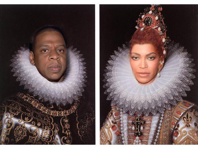 Beyoncé e Jay-Z nelle vesti di Isabella e Ferdinando D'Aragona