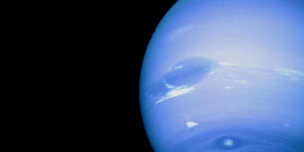 Nettuno, uno dei pianeti su cui piovono diamanti.