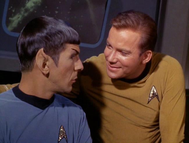 Dott. Spock e Capitano Kirk