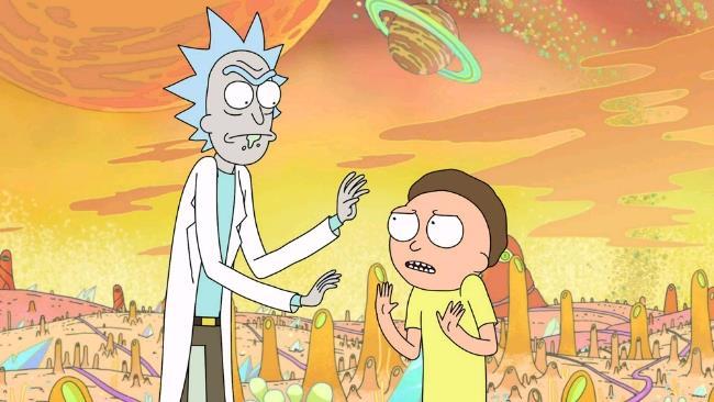 Un'immagine dei protagonisti della serie animata