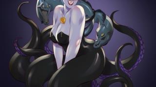 Ursula della Sirenetta in versione pin-up