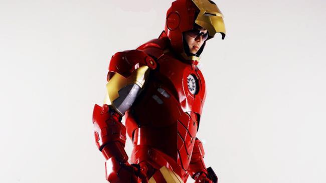 Il costume di Iron Man creato da Christian Trejo