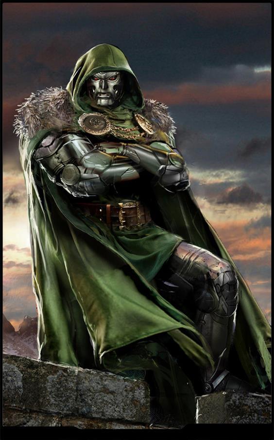 Il Doctor Doom in tutta la sua cattiveria