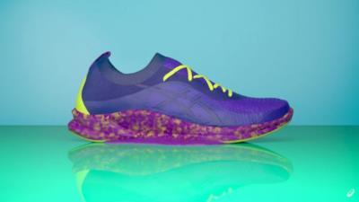 Le scarpe ottenute dalla tecnologia al microonde