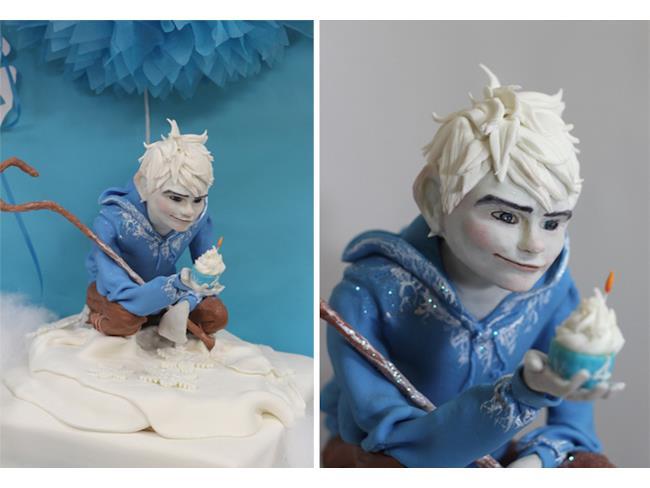 Decorazione torta Jack Frost