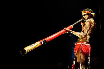 Il didgeridoo in azione