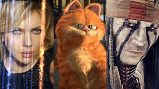 23 ottobre 2015: Lucy, Garfield - Il Film e The Lone Ranger sono in TV