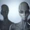 Cinque grigiastri alieni in posa per noi.