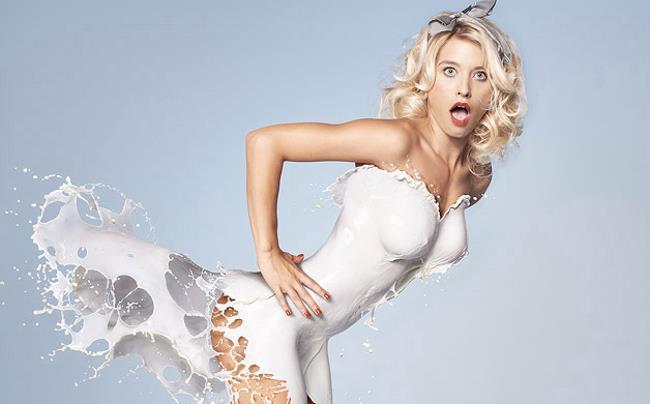 Pubblicità provocante per il latte Fairlife di Coca-Cola