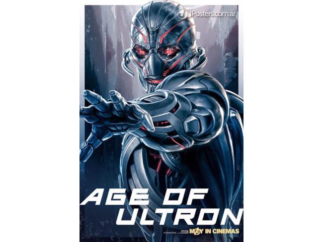 Il nemico di avengers age of ultron in un poster