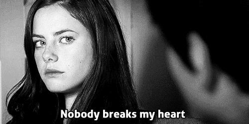 GIF che dice nessuno rompe il mio cuore