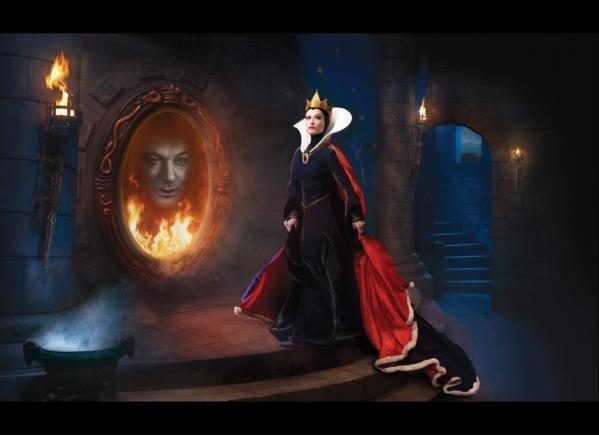 Alec balwin nello specchio magico e olivia wilde come regina grimilde - Amor nello specchio streaming ...