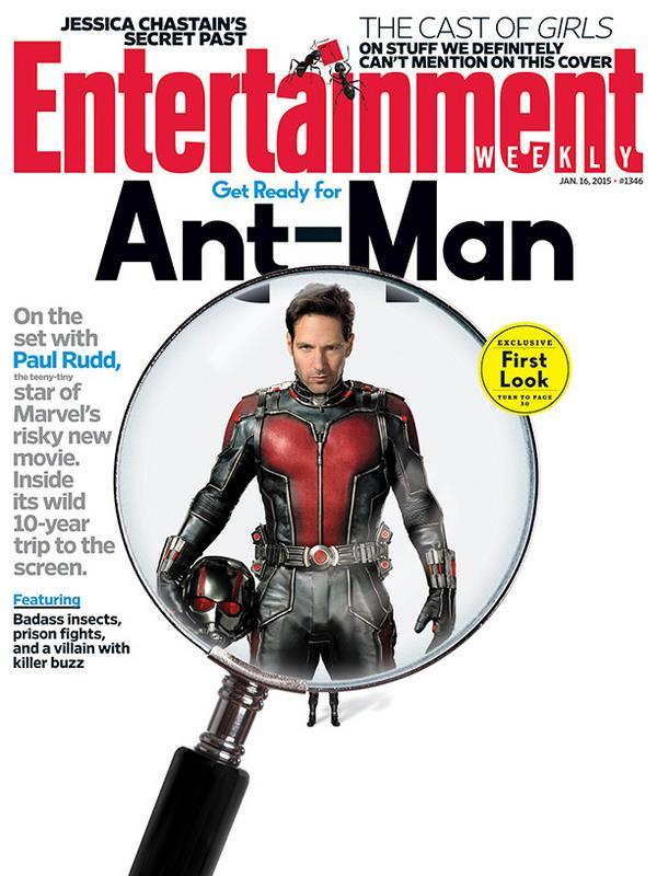 Paul Rudd nei panni di Scott Lang in Ant-Man
