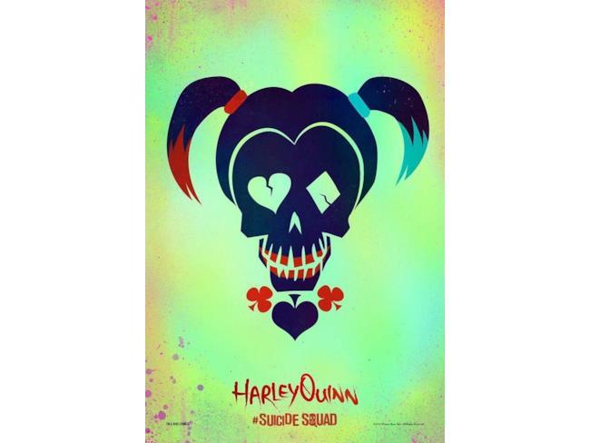 Il cartoon poster di Harley Queen inSuicide Squad