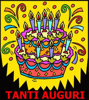 Una torta dai colori vivaci - Immagini di buon compleanno, le più simpatiche da scaricare gratis