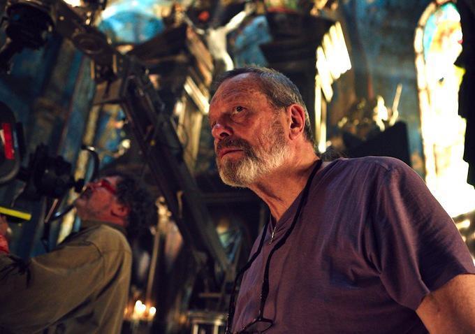 Il regista Terry Gilliam