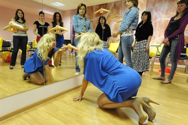Esperimenti di sesso orale alla scuola del sesso di Mosca