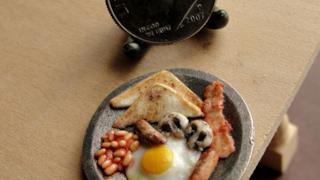 Fagioli, uova e bacon