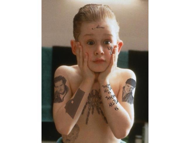 Mamma ho perso l'aereo coi tatuaggi del Joker