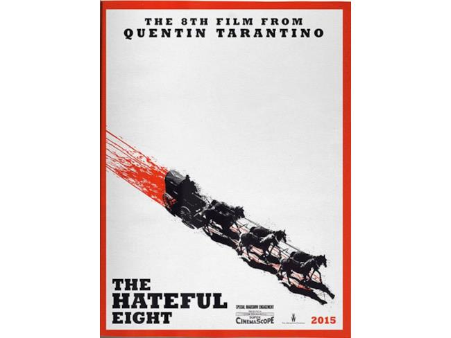 Il primo teaser poster di The Hateful Eight