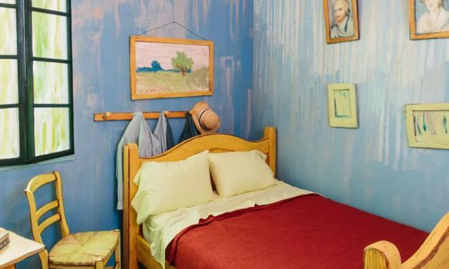 Van Gogh's Bedroom è in affitto su Airbnb a 10 $