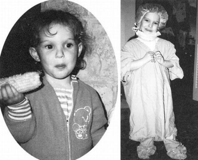 Un'immagine di Natalie Portman da adolescente