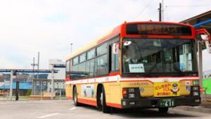 Un bus di Tokyo usato per questo servizio.