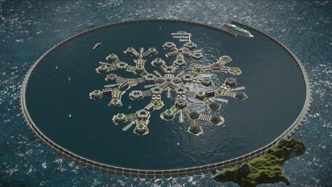 PayPal, il progetto della città galleggiante