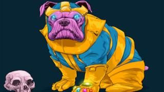 Thanos in versione canina