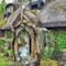 La facciata della casa de Lo Hobbit in Scozia