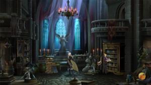 Uno screenshot di Castlevania: Grimoire of Souls