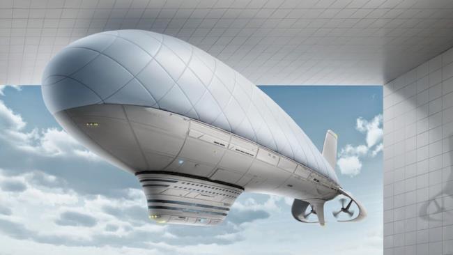 Il prototipo di un dirigibile di ultima generazione