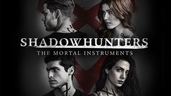 Il logo ufficiale della serie TV Shadowhunters