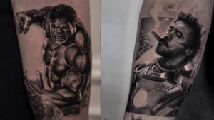 L'incredibile tatuaggio dell'artista belga.