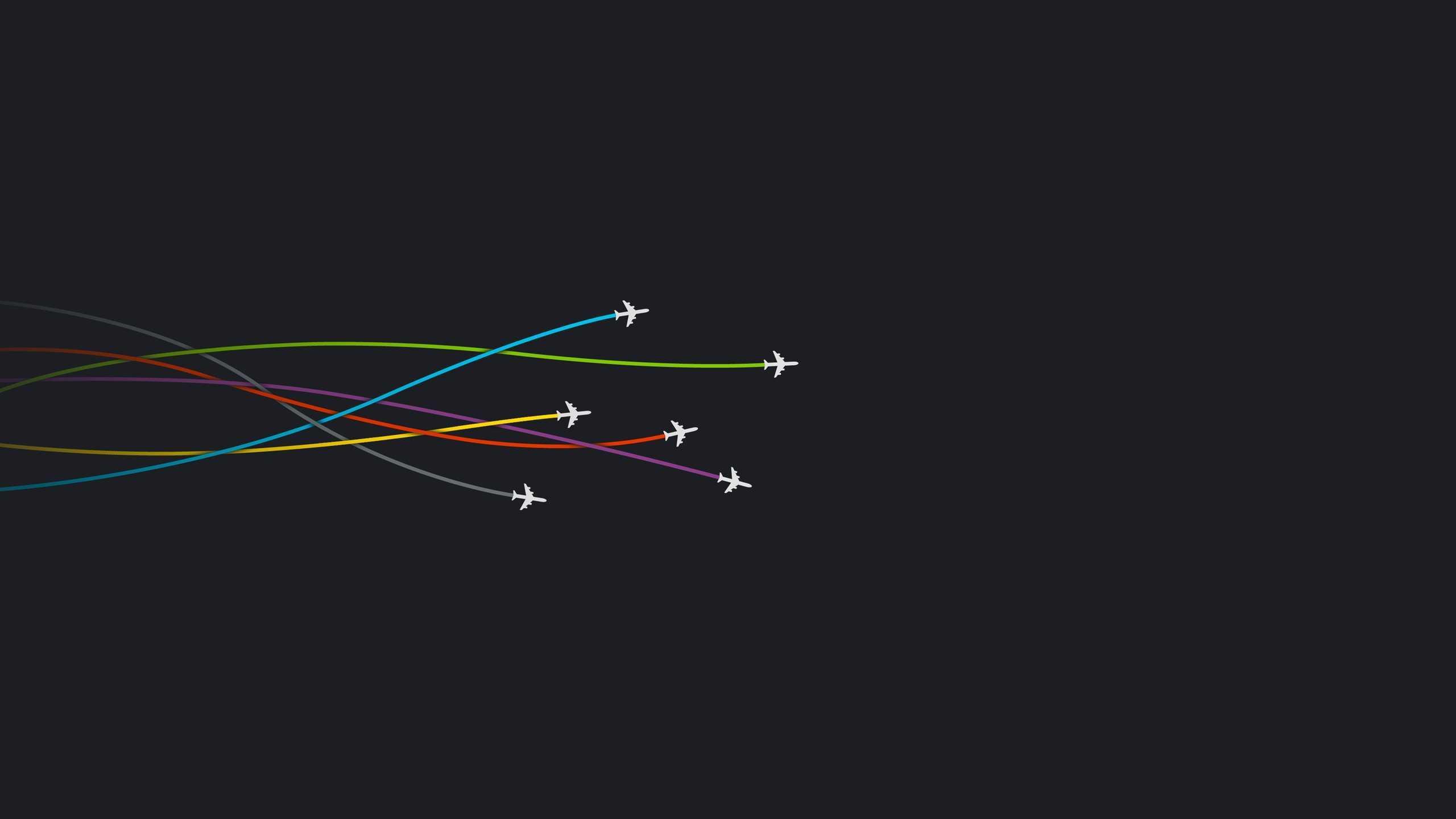 Degli aerei che volano - Sfondi per PC, iPhone, Android e profilo WhatsApp da scaricare
